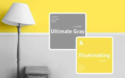 2021 Pantone color of the year is the union of two different colours
